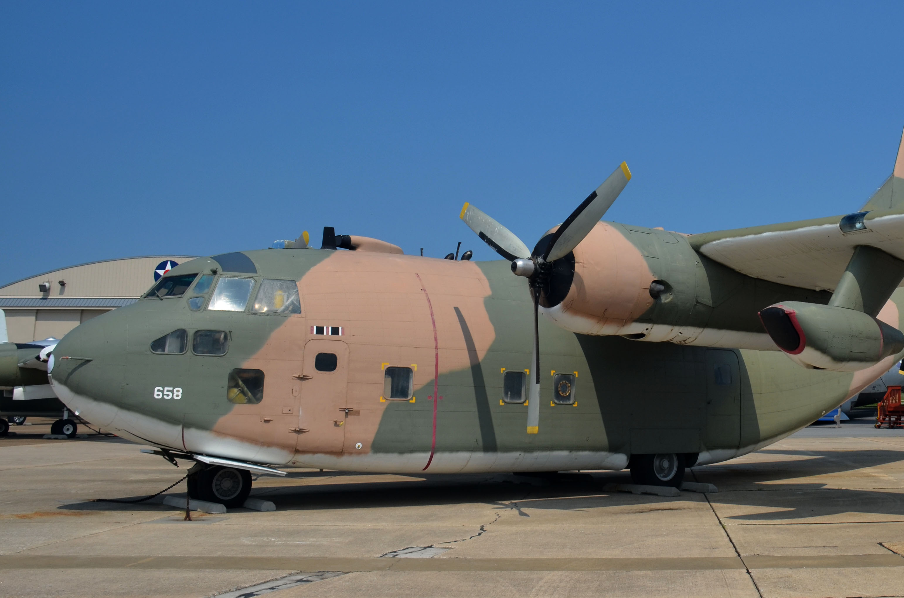 C-123K Provider - Air Mobility Command Museum
