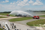 KC-135 Stratotanker 57-1507 - Taxis Through Ceremonial Wash