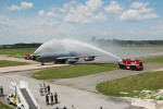 KC-135 Stratotanker 57-1507 - Receives Ceremonial Wash