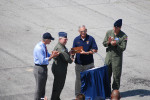 KC-135 Stratotanker 57-1507 - Handing Over Key to Aircraft