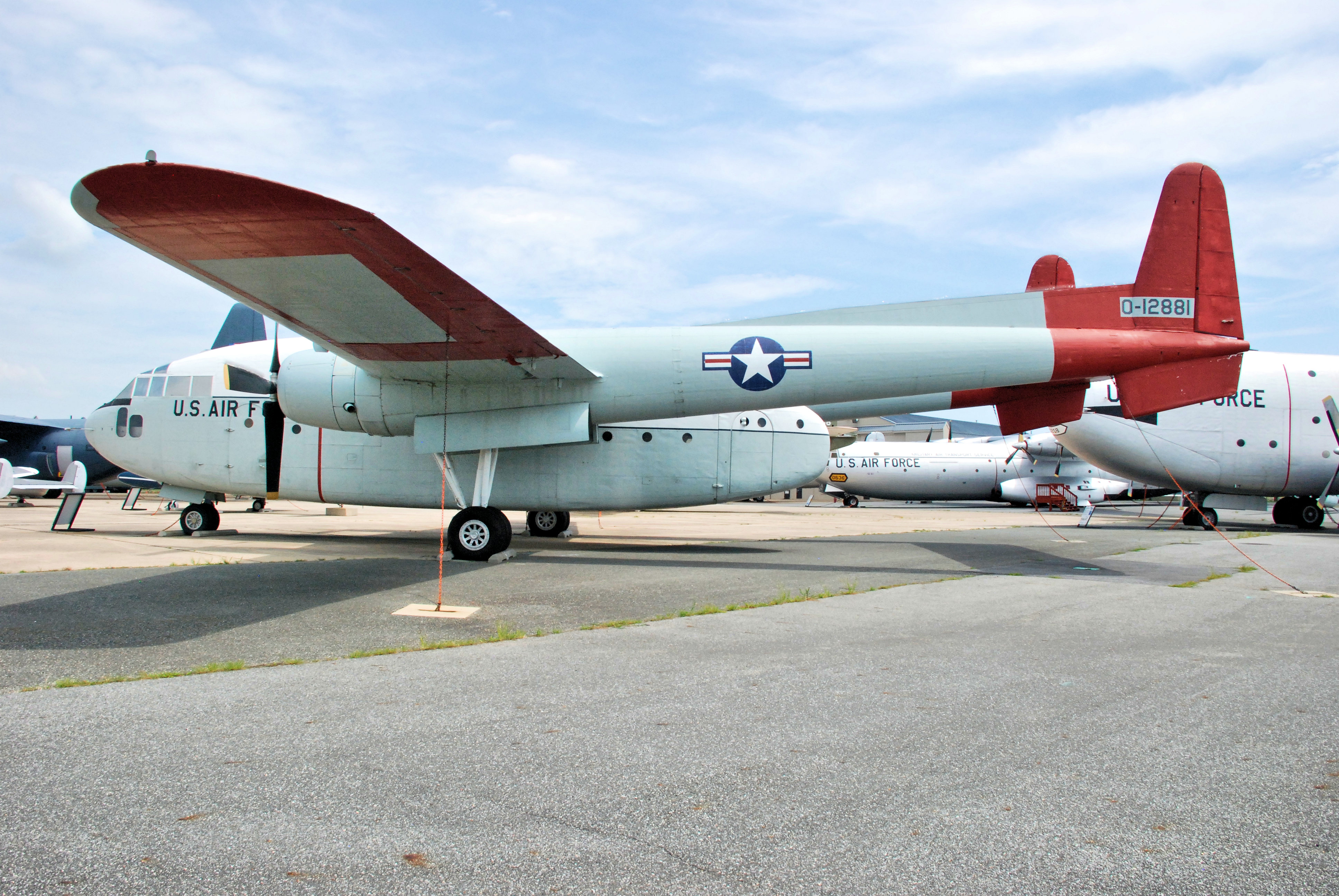 C-119G Flying Boxcar - Air Mobility Command Museum