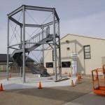 AMC Museum Control Tower Exhibit - Base Installed