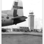 Dover AFB Control Tower Finished Construction - October 1955