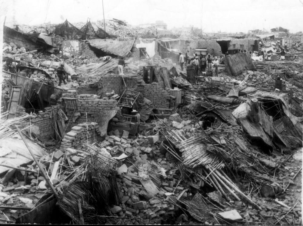 Peru Earthquake Aftermath