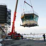 Dover AFB Control Tower Cab Disassembly