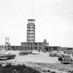 Dover AFB Control Tower Construction 1955