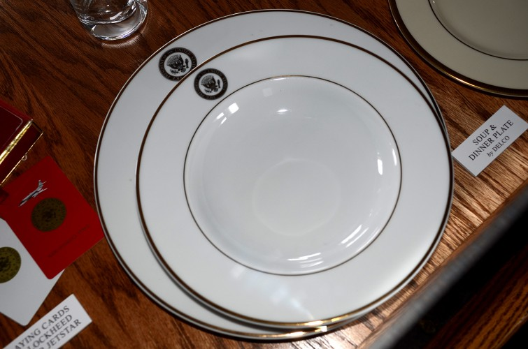 Air Force Two Soup Plate
