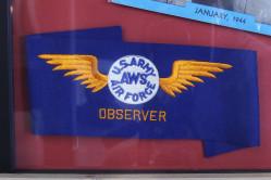 Aircraft Warning Service Observer Armband
