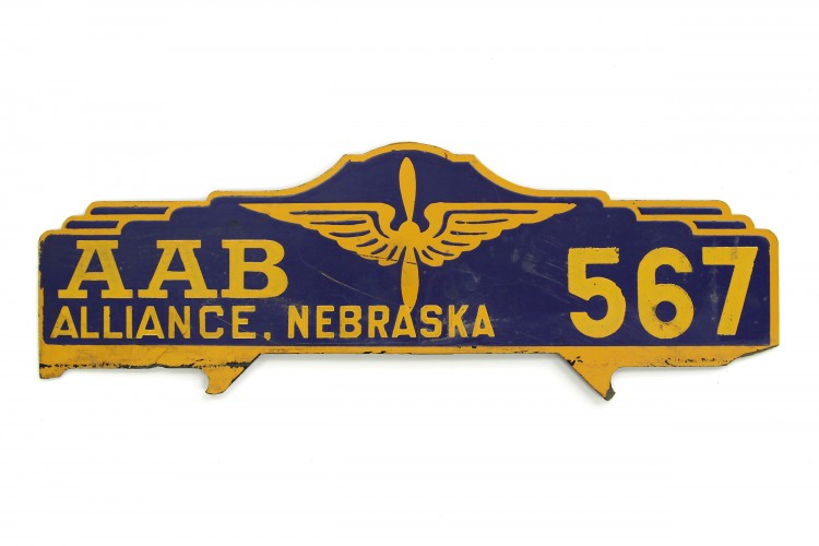 Alliance Army Airbase Vehicle ID Plate