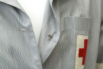 American Red Cross Dress - Detail