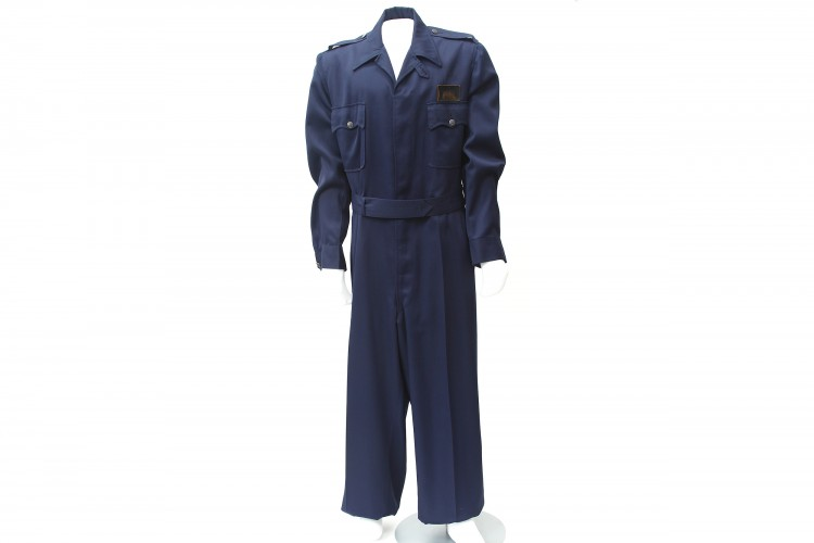 Blue Experimental Flying Coveralls