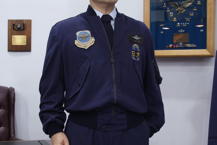 Blue Officer Experimental Jacket