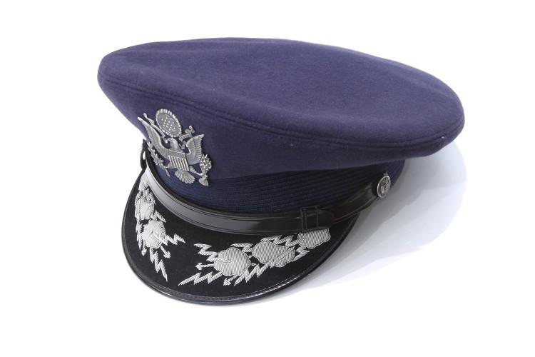 Blue Officer Service Cap