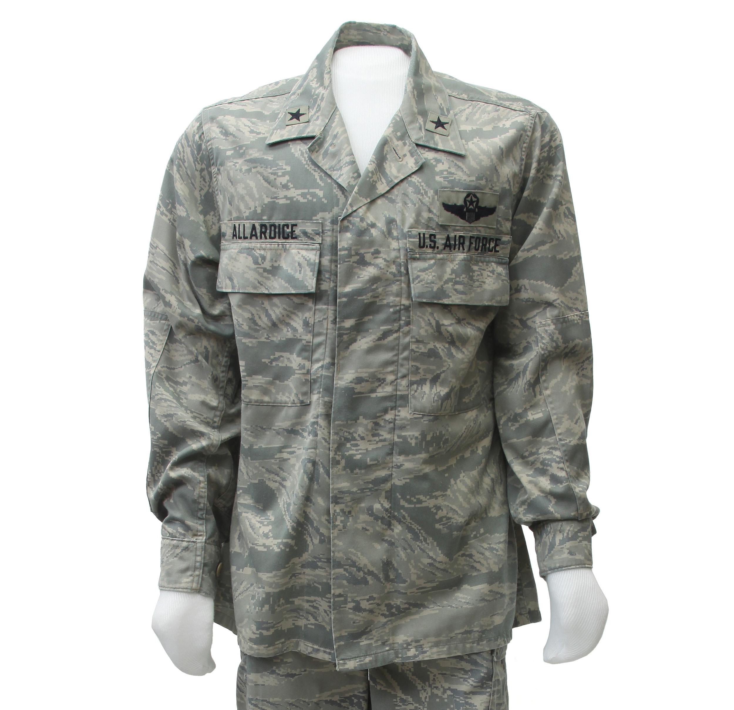 546750f5e24 Experimental Airman Battle Uniform Coat - Air Mobility Command Museum