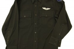 Green Officer Long Sleeve Service Shirt