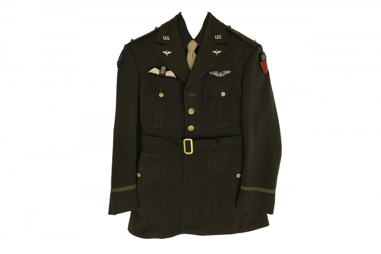 Green Officer Service Coat