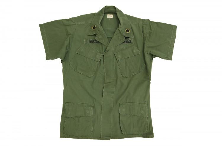 Green Short Sleeve Shirt