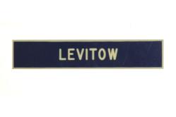 John Levitow Plastic Nametag
