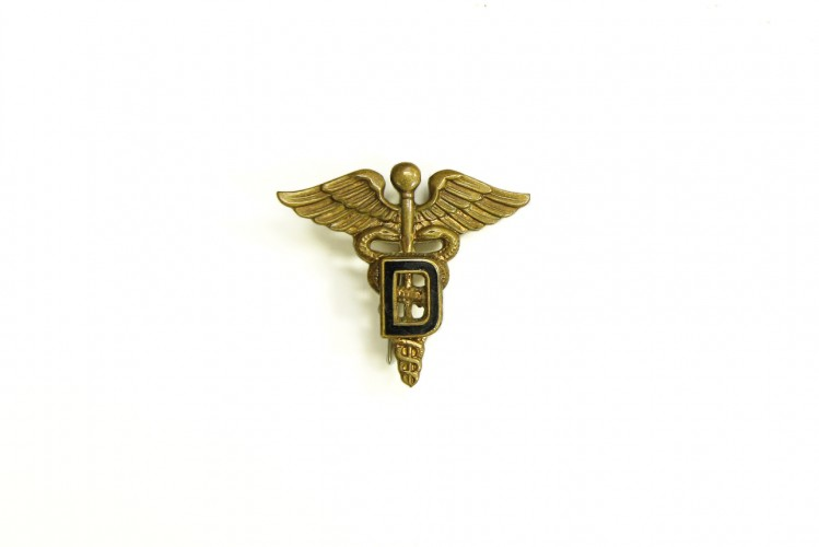 Officer Dental Cap Badge