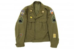 Olive Drab Enlisted Ike Jacket