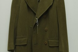 Olive Drab Short Overcoat