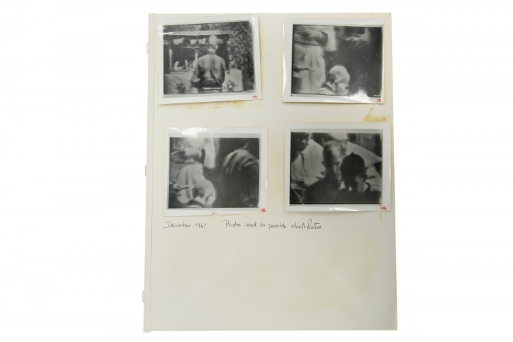 Prisoner of War ID Photographs