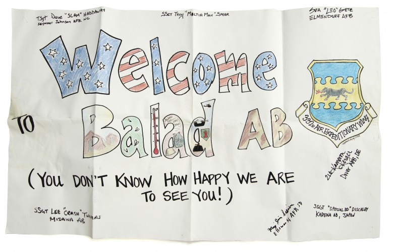 Welcome to Balad Sign