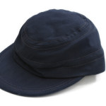dbf5940d2b8 This blue cotton flying cap was worn with the blue coveralls