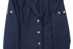 Woman's Blue Enlisted Service Coat