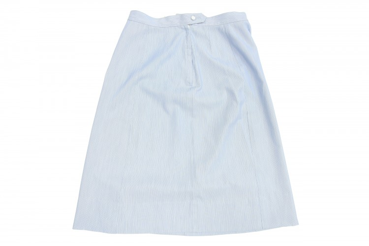 Woman's Blue Service Skirt