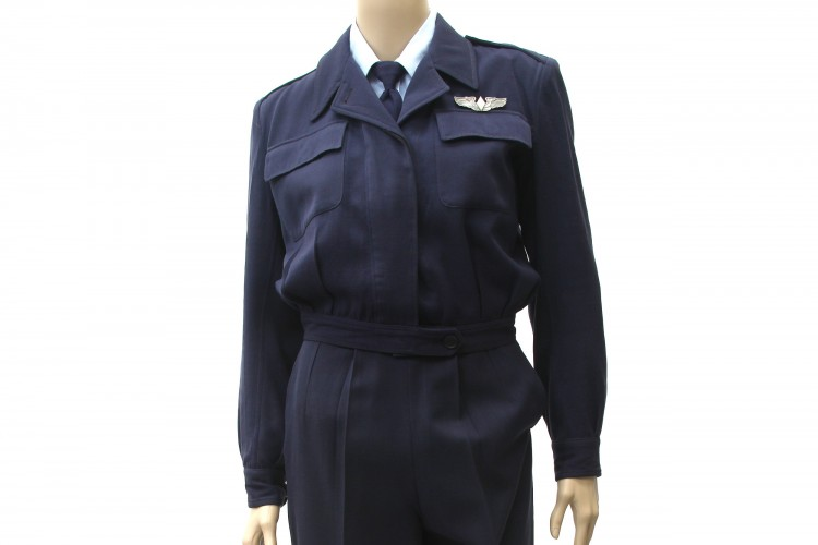 Women's Airforce Service Pilot Service Coat and Long Sleeve Blue Service Shirt