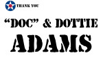 Golf Tournament - Doc and Dottie Adams - Sponsor