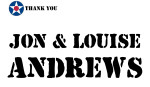 Golf Tournament - Jon and Louise Andrews - Sponsor