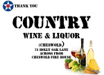 Golf Tournament - Country Wine & Liquor - Sponsor