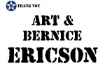 Golf Tournament - Art and Bernice Ericson - Sponsor