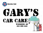 Golf Tournament - Gary's Car Care - Sponsor