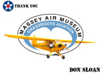 Golf Tournament - Massey Air Museum - Sponsor