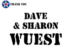 Golf Tournament - Dave & Sharon Wuest - Sponsor
