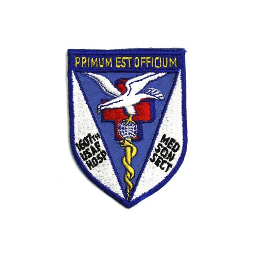 1607th USAF Hospital Medical Squadron Patch