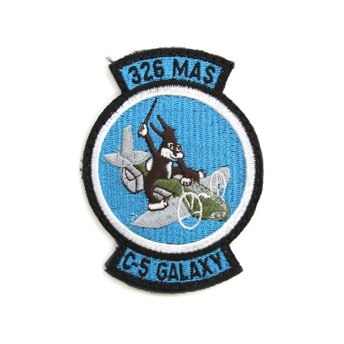 326th Military Airlift Squadron Patch