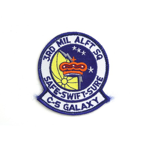 3rd Military Airlift Squadron Patch