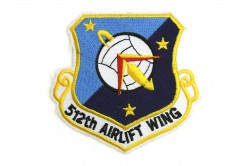 512th Airlift Wing Patch
