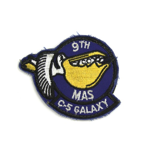 9th Military Airlift Squadron Patch