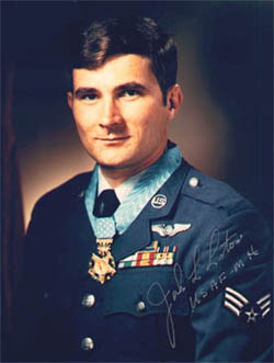 Airman First Class John L. Levitow - Medal of Honor