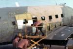 John Levitow flying over Vietnam