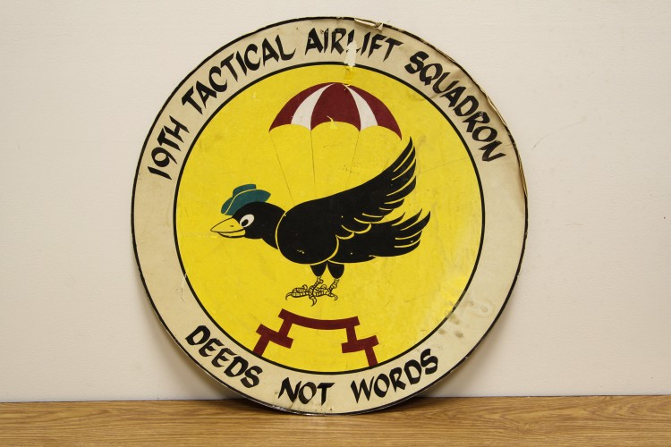 19th Tactical Airlift Squadron Sign