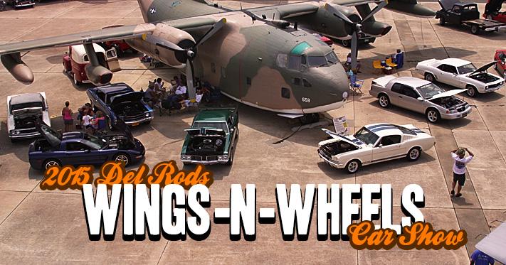 2015 Del Rods Wings-N-Wheels Car Show