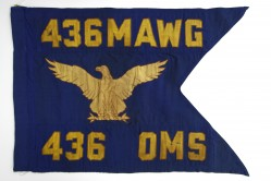 436th Organizational Maintenance Squadron Guidon
