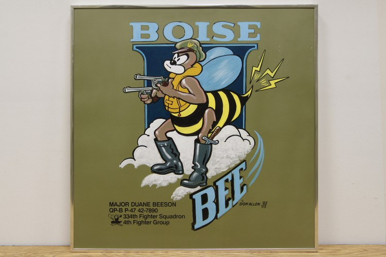 "4th Fighter Group ""Boise Bee"" Nose Art"