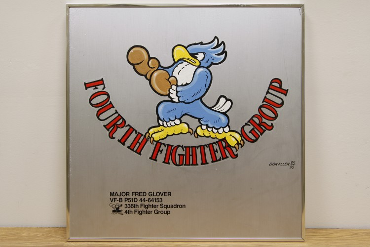 "4th Fighter Group ""Fourth Fighter Group"" Nose Art"